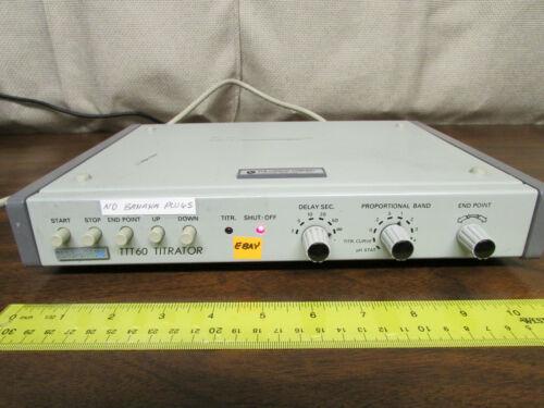 Radiometer Copenhagen TTT-60 Titrator DIN Connector Only