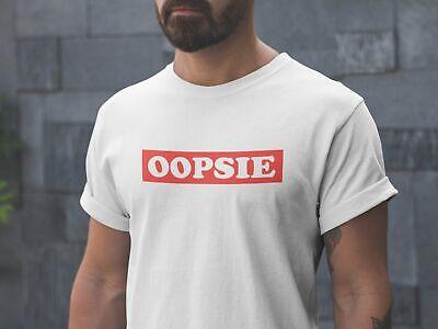 Oopsie Shirt, Did an oopsie meme tshirt, Pewdiepie oopsie