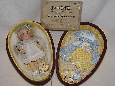"""NOT OFTEN SEEN 8"""" Vogue Just Me Doll """"Just Duckie"""" Wardrobe Egg MINT LE 95/500"""