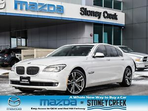2012 BMW 7 Series 750i Xdrive Nav Moonroof Leather Heated Seats