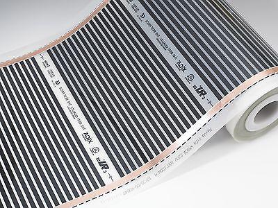 """Carbon Warm Floor Heating Film Kit 50 sq ft 120V. 31 1/2""""  wide"""