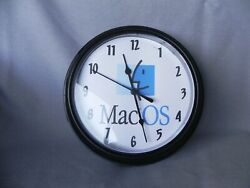 Vintage Apple Computer Classic Mac OS Wall Clock