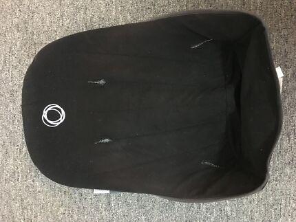 Bugaboo black fleece seat fabric