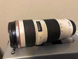 Canon 70-200mm f/4 L