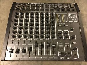 Ross 8x2 Mixing Console