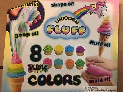 1 1.1 Vending Machine Toy Capsules Fluff Slime Putty Goop Unicorn Poo 250 Pcs
