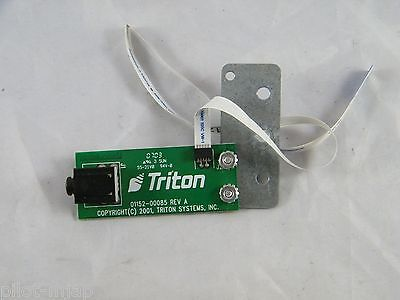 Triton 9100 Atm Headset Adapter Ada  Part Number 01152-00085 Rev A