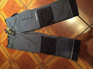Lined work pants