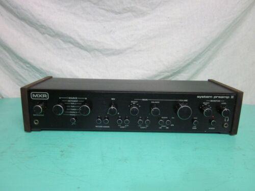 MXR System Preamp II Model 150