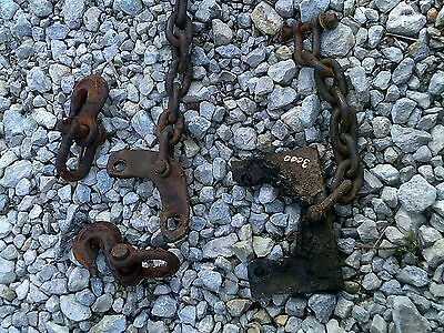Ford 3000 Tractor 3pt Hitch Sway Chain Chains