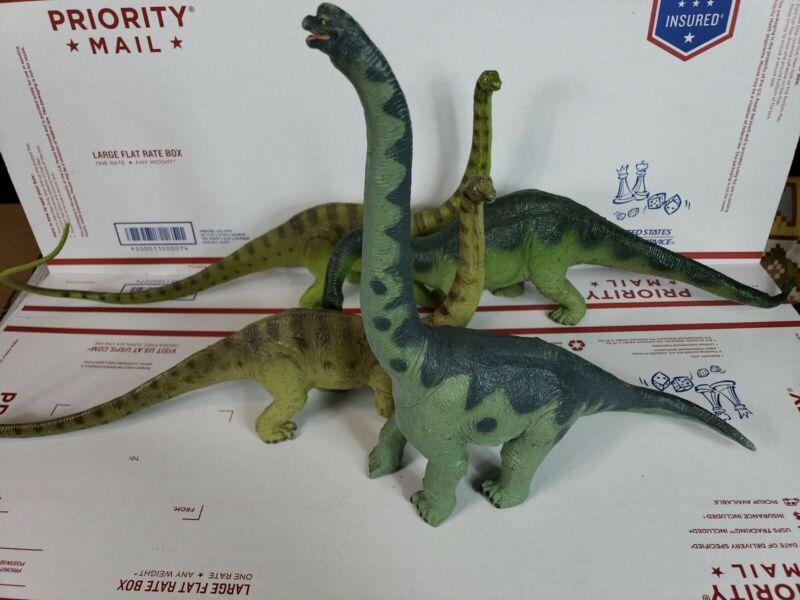 Vtg1988 Safari LTD The Carnegie Collection BRACHIOSAURUS APATO Dinosaur LOT