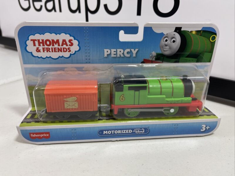 Fisher-Price Thomas & Friends Track Master Motorized Percy Engine New!