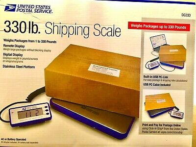 Usps Brand Shipping Scale 330 Lb Heavy Duty Free Shipping