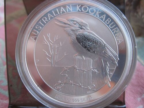 1 OZ SILVER PEARTH MINT 2016 KOOKABURRA