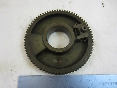 South Bend 9 10k Lathe Headstock Spindle Bull Gear