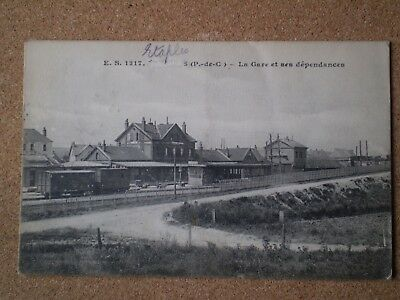 WW1 Censored postcard from Etaples in 1915 - posted to London