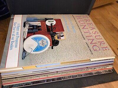 Treasure Hunting Magazine Complete Jan Dec 1989 British Vintage Rare