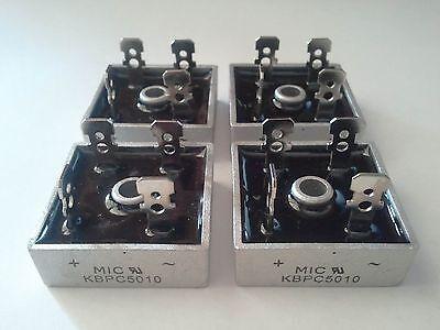 Bridge Rectifier 1ph 50a 1000v 50 Amp Metal Case - 1000 Volt 50a Diode 5pcs