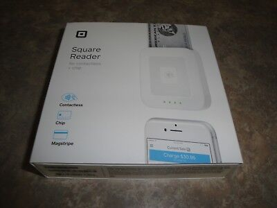 Square Reader Checkout Universal Credit Card Reader Terminal Swiper Chip New