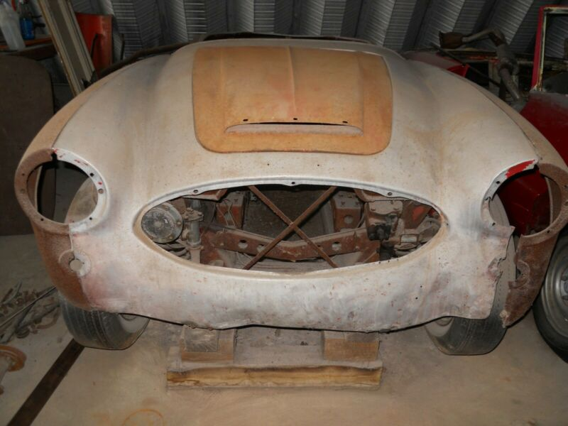 1959 Austin Healey 100-6 project
