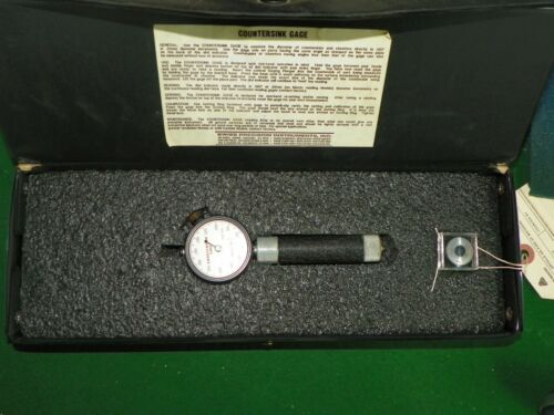 Swiss Precision Instruments Countersink Gage Model 100-1 | 100 Degree .360-.160