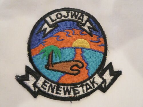 MARSHALL ISLANDS LOJWA UNIFORM EMBLEM PATCH, NEW UNUSED!