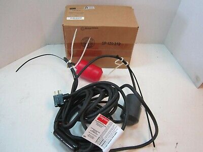 Twin Float Sump Pump Switch 230v 2hp With 30 Cable New Made In Usa