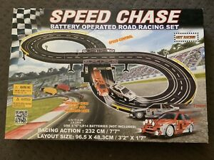 Battery operated race track NEW IN BOX