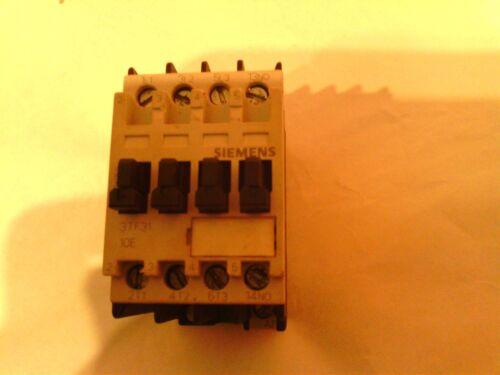 H5) Siemens Motor Starter Contactor, 20A, 3TF3110-0A 1S/1NO