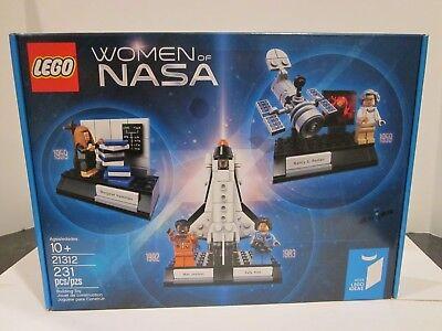 Lego Set 21312 Women Of Nasa  Sally Ride  Mae Jemison  Brand New Sealed In Box