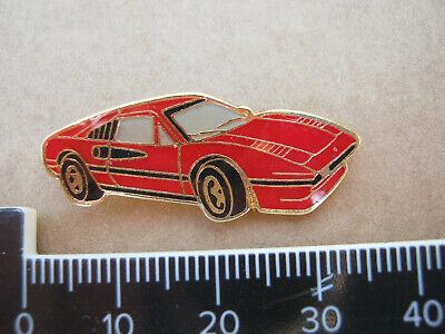FERRARI 308 GTS CAR ENAMEL PIN LAPEL BADGE