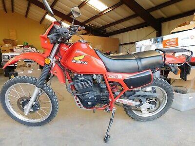 '84 HONDA XL600R XL XR 600 R Vintage MX MotoCross Enduro 5773 miles STREET LEGAL