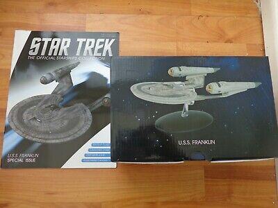 Star Trek Eaglemoss Naves Espaciales Colección Especial XL Uss Franklin Enviar comprar usado  Enviando para Brazil