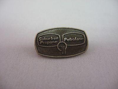 Rare Vintage Advertising Sterling Silver Pin Pinback  Petrolane Suburban Propane