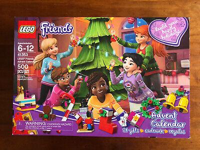 LEGO 41353 Lego Friends Christmas Advent Calendar 500pcs 24 Gifts COMPLETE!