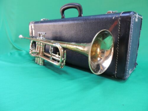 King 🎺 Trumpet Cleveland SUPERIOR 600B Refurbished with MP and Case USA Quality