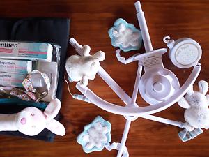 BULK newborn baby change mat nappy rash musical toy pram strap Launceston Launceston Area Preview