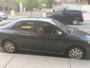 2009 Toyota Corolla S Sendan 5 Speed  MANUAL