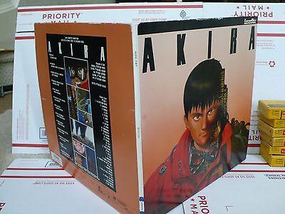 AKIRA 1988 Japanese  Laserdisc LD 2 Disc---collection