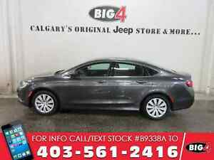 2015 Chrysler 200 LX | Bluetooth | 9 Speed Auto |