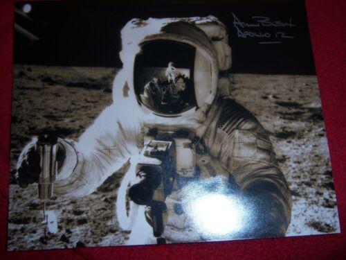 Alan Bean Signed/Autographed Apollo 12 Astronaut NASA Photo