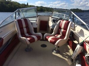 Mint 1987 18ft Sunray 225hp Yamaha