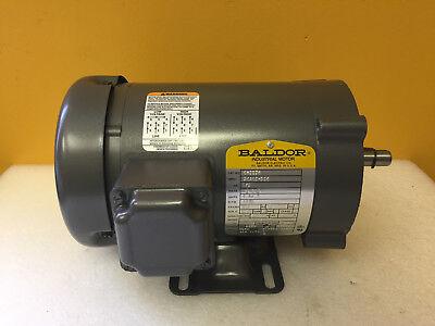 Baldor Cm3534 13 Hp 1725 Rpm 230 460 Vac Tefc General Purpose Motor. New