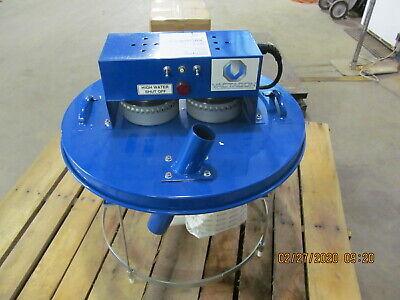 Vactagon Industrial 55 Gal. Drum Top Wetdry Vacuum Dt255h - Twin Motor