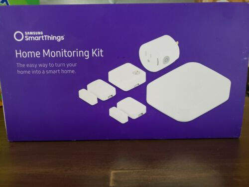 Samsung SmartThings Home Monitoring Kit White Free shipping!