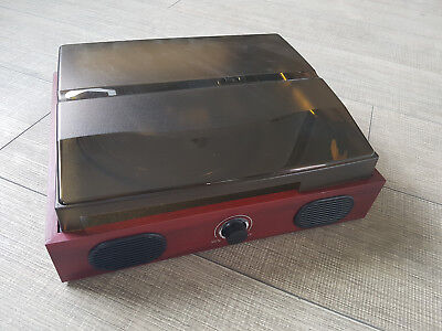 Plattenspieler USB-Plattenspieler Schallplattenspieler mit Lautsprechern