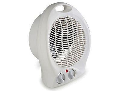 Calefactor Calentador con Termostato Electrico Termo Ventilador y Regulador 2670