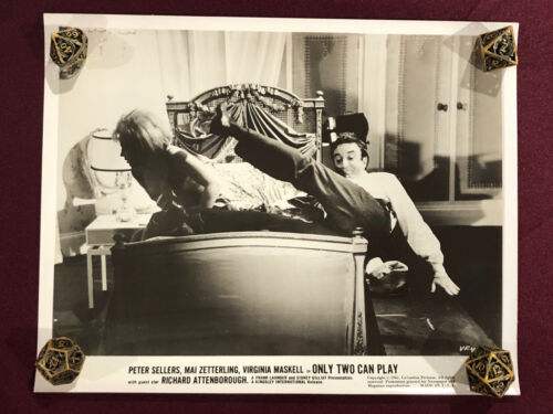 ONLY TWO CAN PLAY ORIGINAL MOVIE PHOTO STILL 1962 PETER SELLERS  PINK PANTHER 6