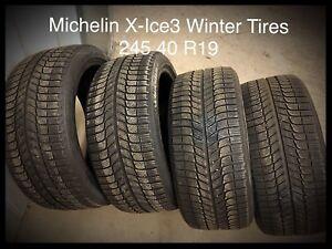Michelin X-Ice3  Winter Tires