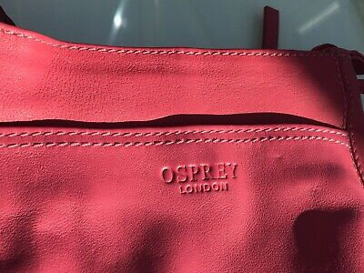 Osprey London Crossbody Bag Pinky Rouge Colour - Lovely Fun Bag